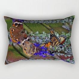Multiple Butterflies 2 Rectangular Pillow