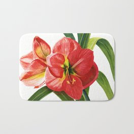 My Mother's Amaryllis Bath Mat