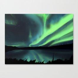 Northern Lights (aurora borealis) Canvas Print