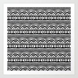 mudcloth no. 2 Art Print