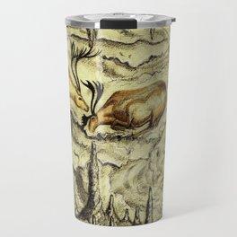 Rock Shelter Reindeer Travel Mug