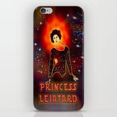 Princess Leiatard – 045 iPhone & iPod Skin