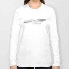 120km/h // (cheetah) Long Sleeve T-shirt