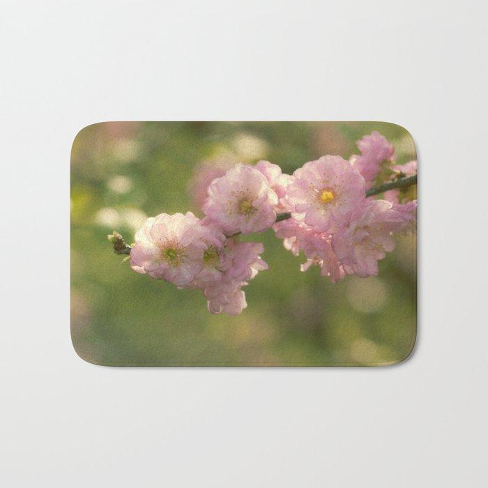Almondblossoms in LOVE - Cherryblossom Flower Floral Bath Mat