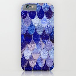 SUMMER MERMAID ROYAL BLUE iPhone Case