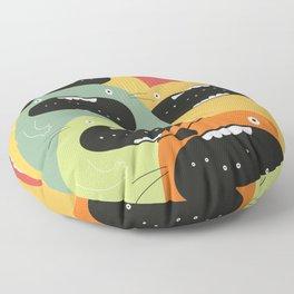 Monster gang. Floor Pillow