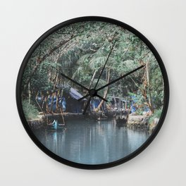 Cochin, India II Wall Clock
