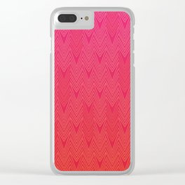 Fire Pulse Clear iPhone Case
