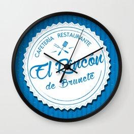 El Rincón de Brunete Wall Clock