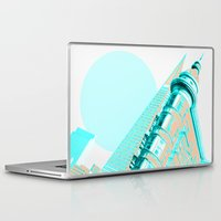 san francisco Laptop & iPad Skins featuring San Francisco by DM Davis
