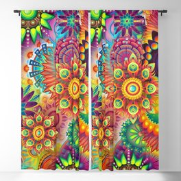 Psychedelia 67 Blackout Curtain