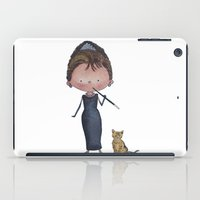 audrey iPad Cases featuring Audrey by Juliana Motzko