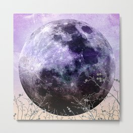 MOON under MAGIC SKY VII-1 Metal Print