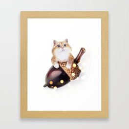 Squirrel? Framed Art Print