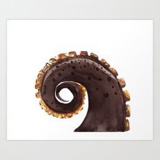 ocean treasures No.2  Octopus Tentacle  Art Print