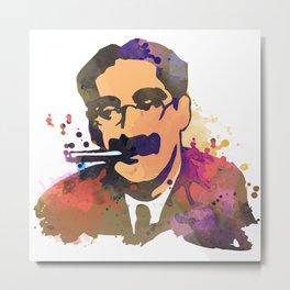 GrouchoMARX Metal Print
