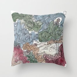 Us and Them Throw Pillow