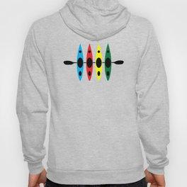 Four Kayaks | DopeyArt Hoody