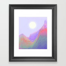 Keep on Running Framed Art Print