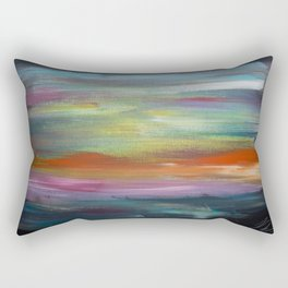 Waking Up Uncertain Where You Are Rectangular Pillow