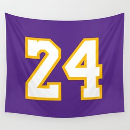 Mamba 24 Wall Tapestry