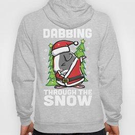 Guinea Pig Dabbing Through The Snow Christmas Hoody