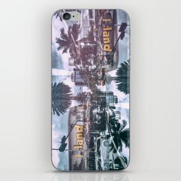 South beach Island iPhone Skin