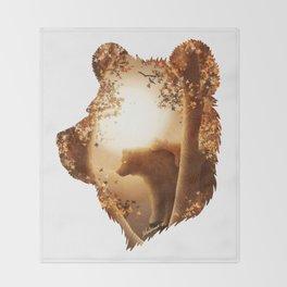 Bear Haven Throw Blanket