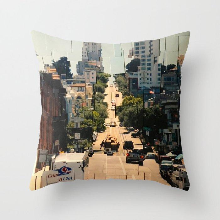 It's a Cubist's World Throw Pillow
