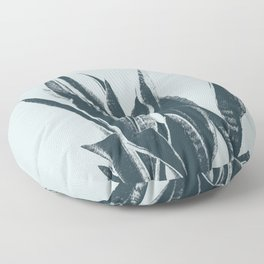Long Leaves of The Green Plant #decor #society6 #buyart Floor Pillow