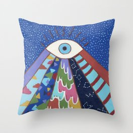 Psychedelic: Viewpoint Collection Throw Pillow