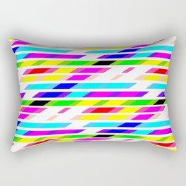 COLOURED STRIPES Rectangular Pillow