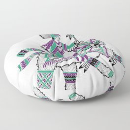 The Bear Rider Floor Pillow