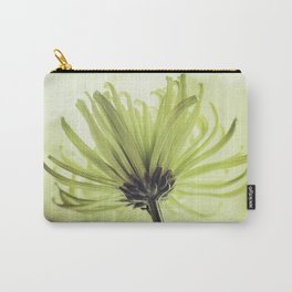 shades of green spider mum Carry-All Pouch