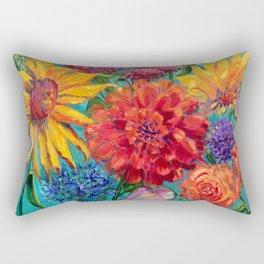 Hello Dahlia! Rectangular Pillow