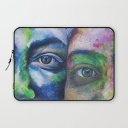 We Compliment Each Other Like Colors Laptop Sleeve