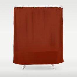 Kenyan Copper - solid color Shower Curtain