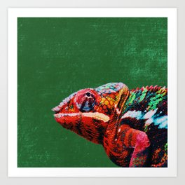 Don't Blend In - Be Different! Art Print