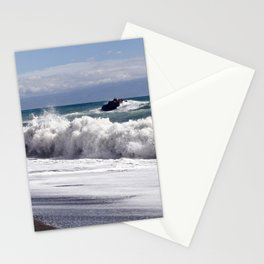 WAVES on the EAST-COAST of SICILY Stationery Cards