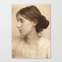 Virginia Woolf Vintage Photo,1902 Canvas Print