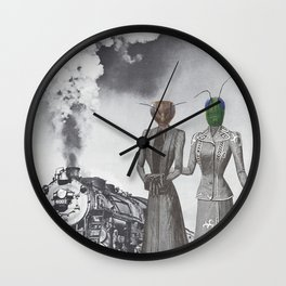 Departure Incognito Wall Clock