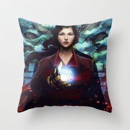 Asami Sato Throw Pillow