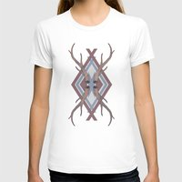 antlers T-shirts featuring Antlers by Ben Bauchau