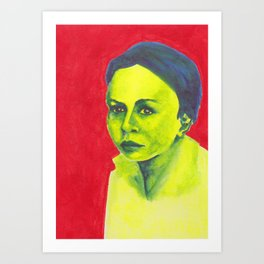 Nos étrangers 6 Art Print