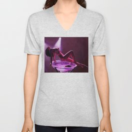 Midnight dancer Unisex V-Neck