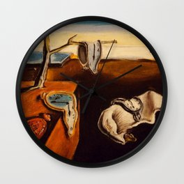 Salvador Dali - The Persistence of Memory Wall Clock