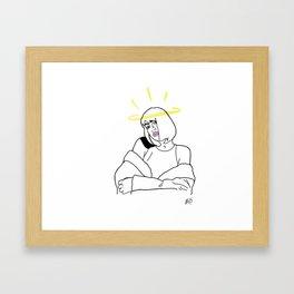 Nicka Framed Art Print