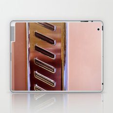 Pink Classic American Car Laptop & iPad Skin