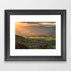 Landscape 10 Framed Art Print