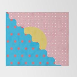 Memphis Style N°6 Throw Blanket